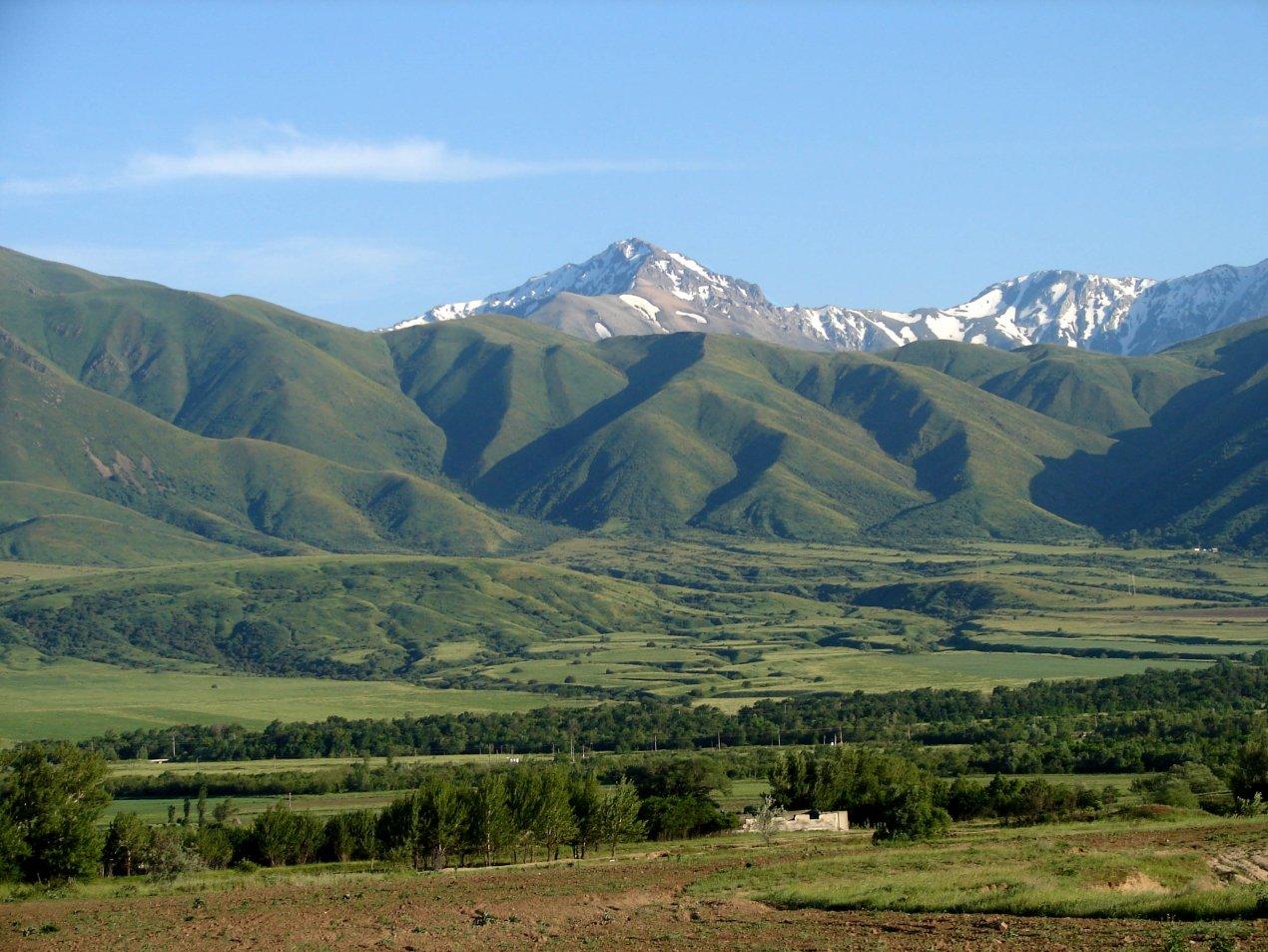 Горы Каратау